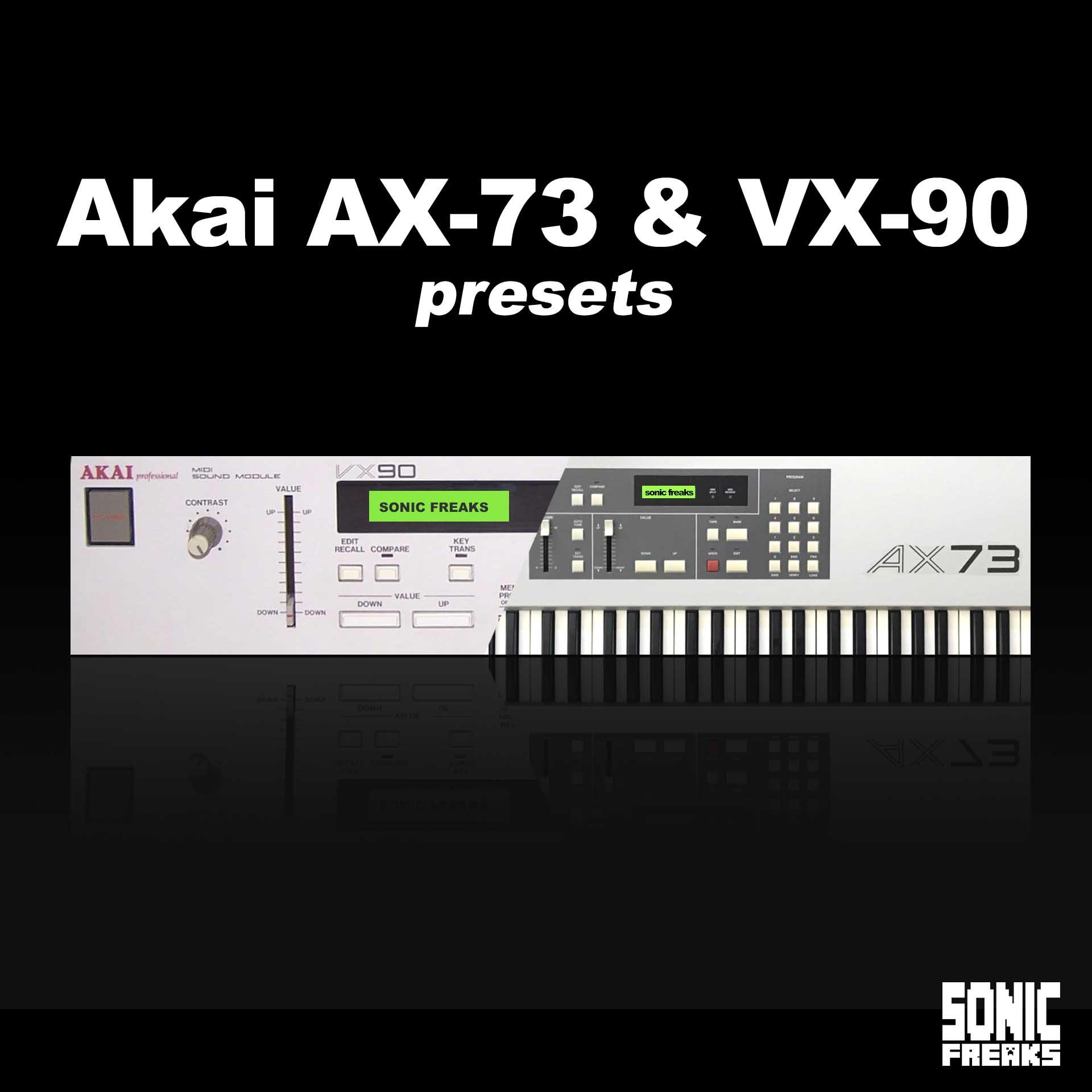 Akai AX-73 & VX-90 patches