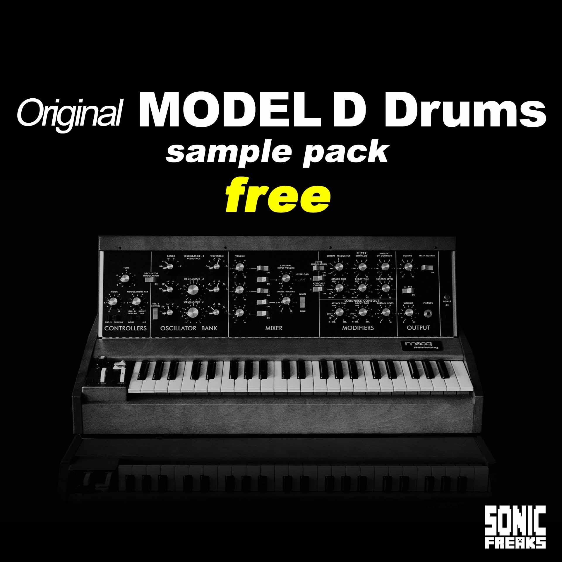 Original Model D Drums
