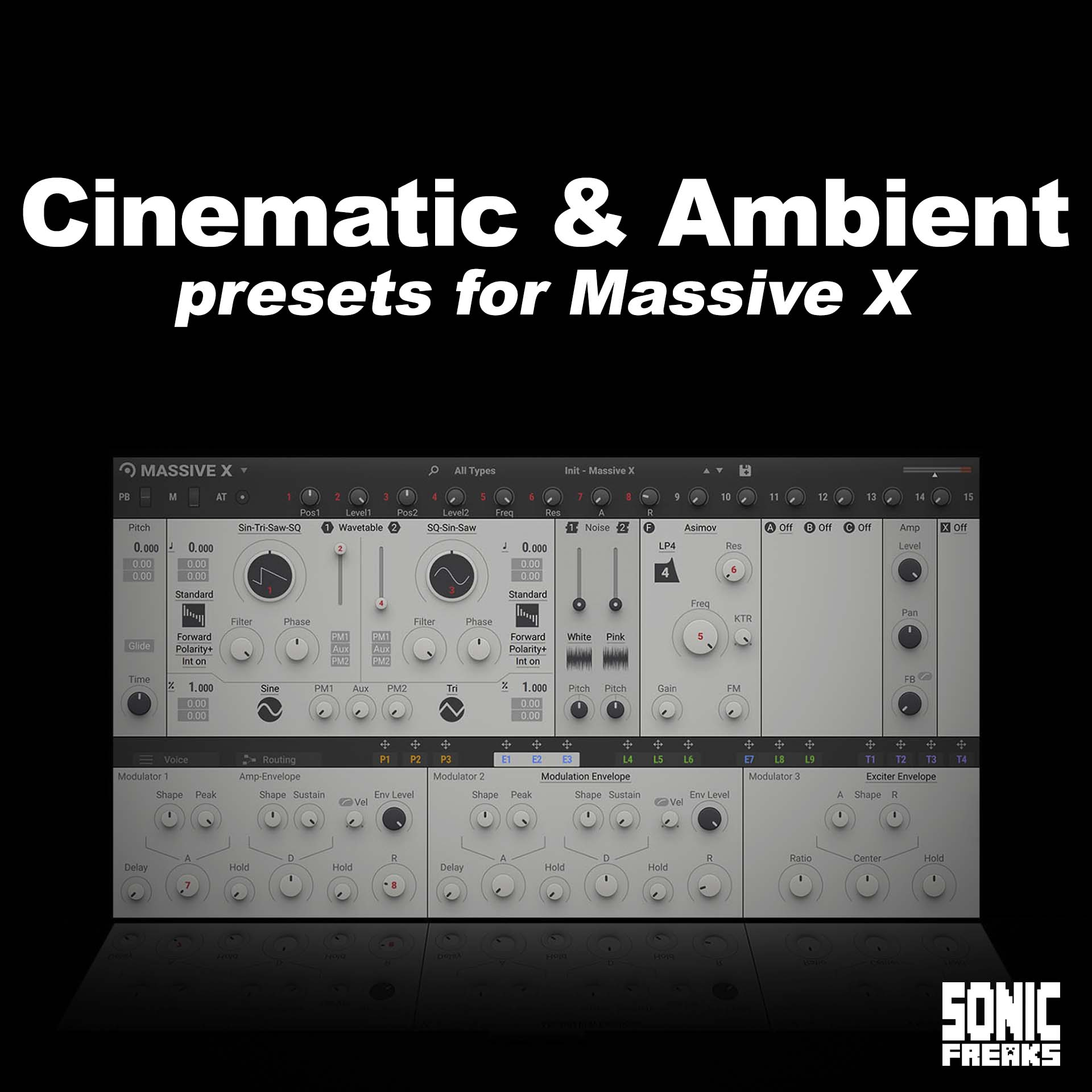 Massive X - Cinematic & Ambient presets Collection
