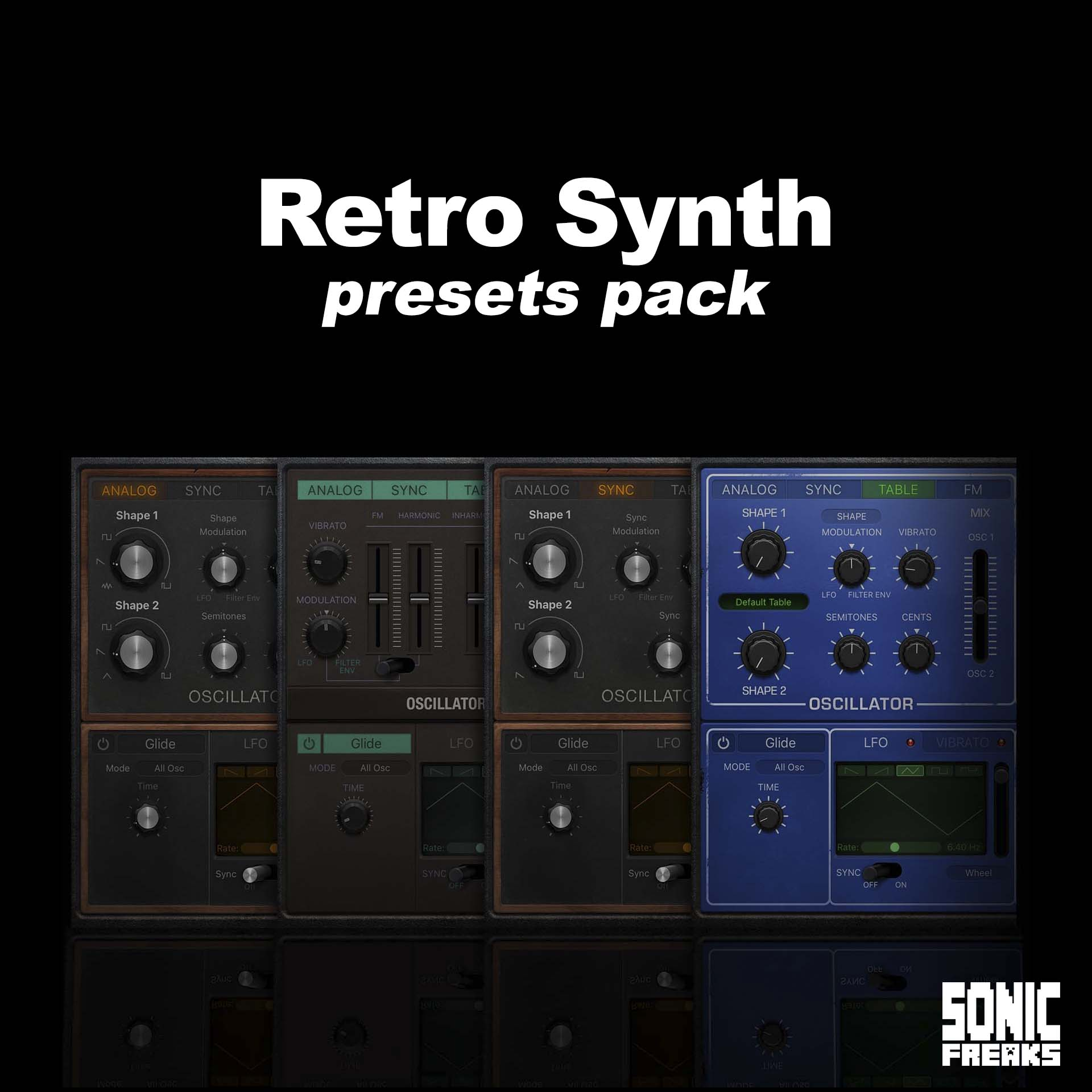 Retro Synth - presets pack